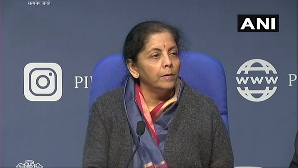 Finance Minister Nirmala Sitharaman says, Task force has identified Rs 102 lakh crore infrastructure projects