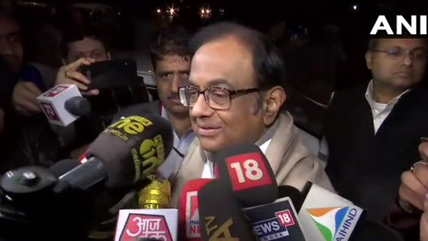 Congress leader P Chidambaram mets Sonia Gandhi, says I will address a press conference tomorrow