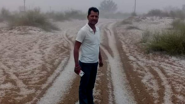 rajasthan weather update Rain and Hail in many districts