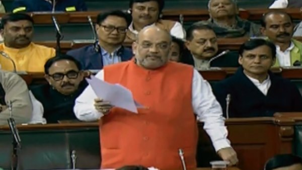 HM Amit Shah says In 1947, all refugees which came in, all were accepted by Indian constitution