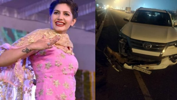 Singer and dancer Sapna Chaudharys car crashed in Gurugram