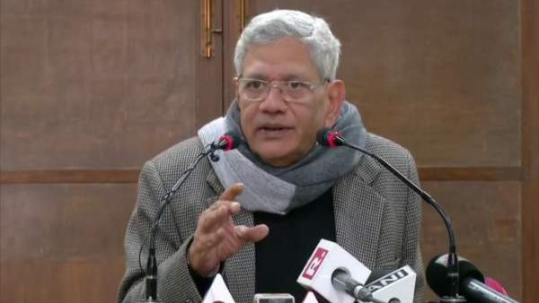 Some major forces are trying to assassinate Mahatma Gandhi ideas Sitaram Yechury