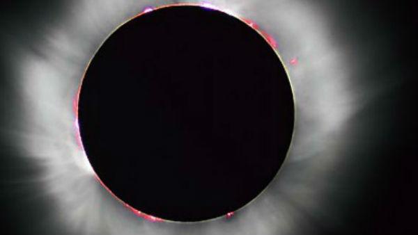 Solar eclipse time