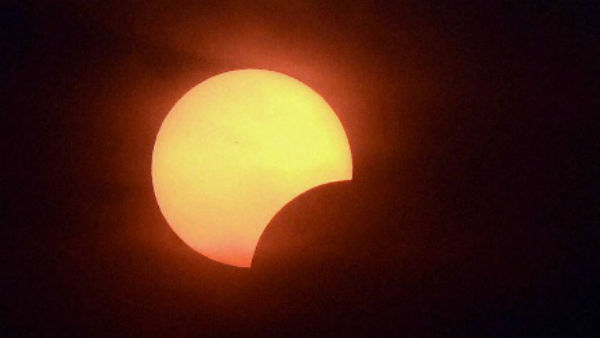 What is 'solar eclipse'?