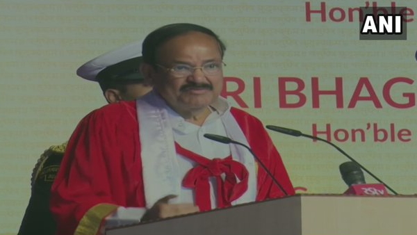 Vice President M Venkaiah Naidu spoke on increasing crimes against women