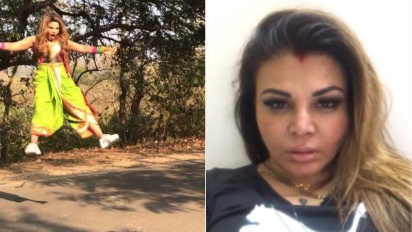 VIDEO: 'मास्टर जी' ने राखी को पेड़ से लटकाया, नहीं पता था, ऐसा होगा, निकल गई चीख