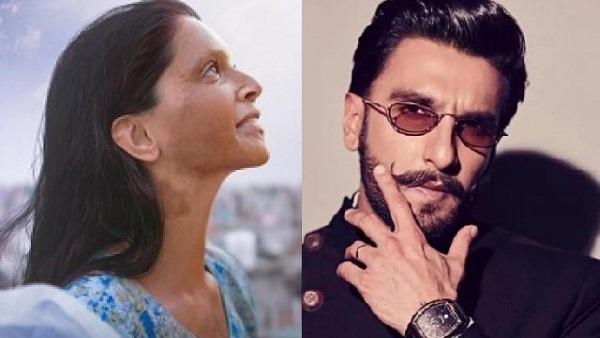 ये भी पढ़ें:दीपिका की 'छपाक' पर जारी विवाद के बीच रणवीर सिंह ने फिल्म को लेकर कही बड़ी बात