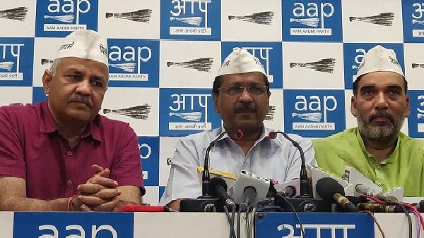 AAP में टिकट बंटवारे पर घमासान, एक और दिग्गज नेता ने किया पार्टी छोड़ने का ऐलान