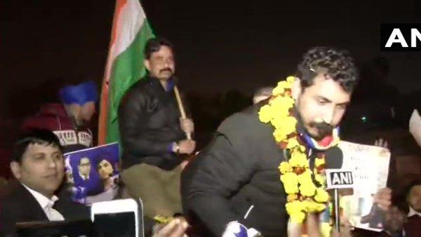 25 दिन बाद तिहाड़ जेल से रिहा हुए भीम आर्मी चीफ चंद्रशेखर आजाद