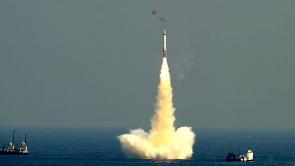 second time in the last six days India successfully test K-4 submarine-launched ballistic missile