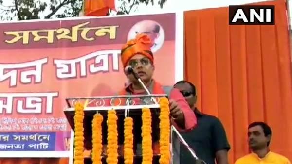 बंगाल भाजपा प्रमुख ने दिया विवादित बयान, CAA का विरोध करने वालों को बताया 'शैतान और कीड़ा'