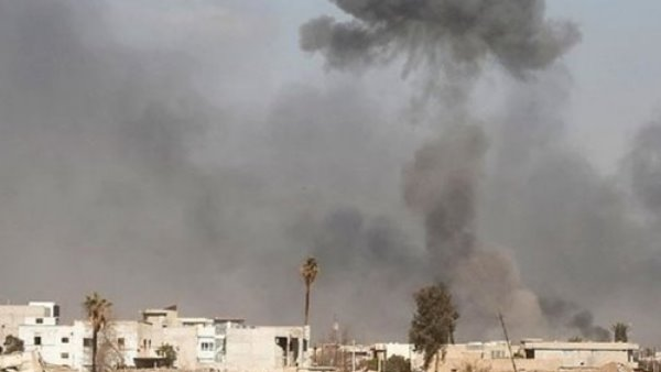 Air defense systems in Iraq have intercepted a rocket targeting the US Embassy in Baghdads heavily fortified Green Zone