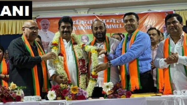 BJP leader Sadanand Tanavade appointed as party Goa unit Chief