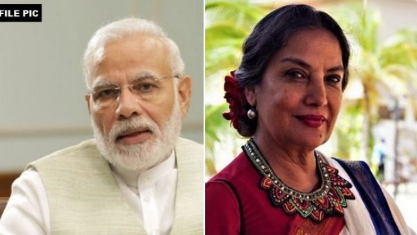 PM Modi reacts to Shabana Azmi's accident, wishes speedy recovery