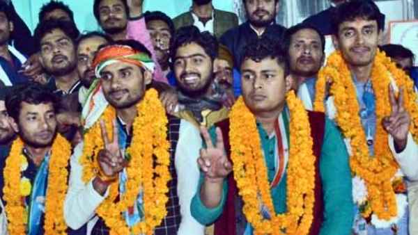 NSUI clean sweeps Sanskrit University of Varanasi defeating ABVP