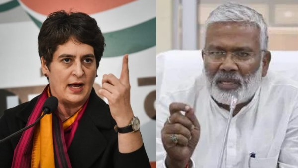 bjp leader Swatantra Dev Singh says Priyanka Gandhi funding violence in UP