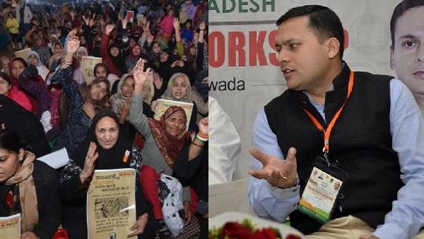 शाहीन बाग की महिलाओं ने BJP आईटी सेल हेड को भेजा मानहानि का नोटिस, की 1 करोड़ के हर्जाने की मांग