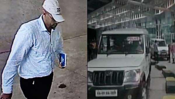 मंगलुरू एयरपोर्ट पर मिला बम, पुलिस ने जारी की संदिग्ध की तस्वीर