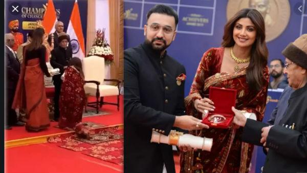 यह पढ़ें:Champion of Change Award: शिल्पा शेट्टी ने प्रणब मुखर्जी के छूए पैर, तस्वीर हुई Viral