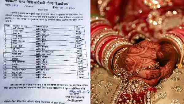 20 female teachers in Siddharthnagar assigned to help brides get ready for their wedding programme