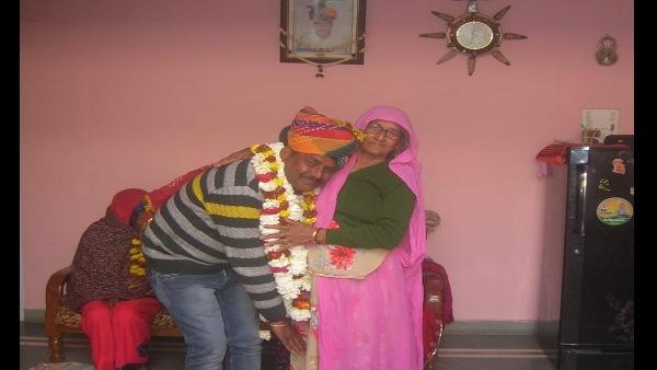 SIKAR : 40 साल बाद राजपूत समाज से बेटा सरपंच बनते ही मां ने गांव को तोहफे में दी एम्बुलेंस