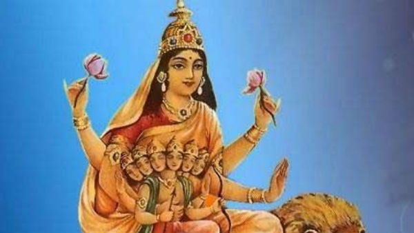 There are four Navratris in the year…