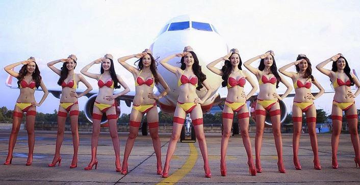 <strong>भारत में इन रूट्स पर उड़ान भरेसी 'बिकिनी' एयरलाइन, किराया जानकर रह जाएंगे दंग</strong>