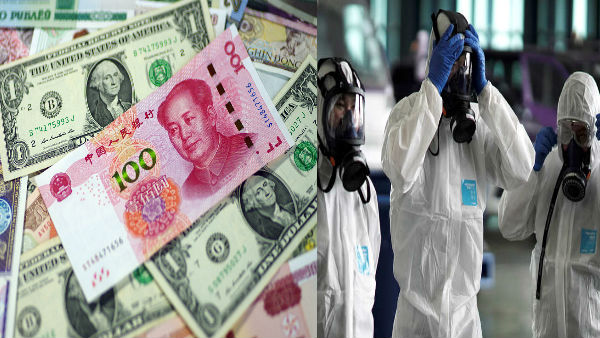 Coronavirus effect: China Central Bank destroyed rs 84000 Crore Banknotes currency