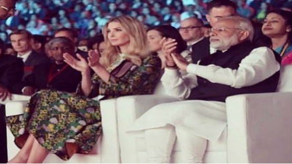 Donald Trump in India: Ivanka Trump Shared Old photo with PM Narendra Modi, said honored to visit India again