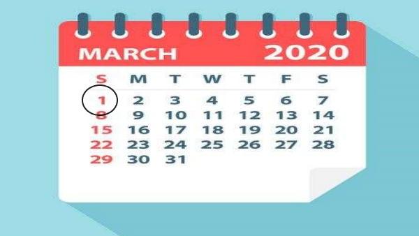 <strong>MUST READ: 1 मार्च से बदल जाएंगे ये 5 नियम, SBI खाताधारकों की बढ़ेगी मुश्किल, नहीं मिलेंगे 2000 के नोट</strong>