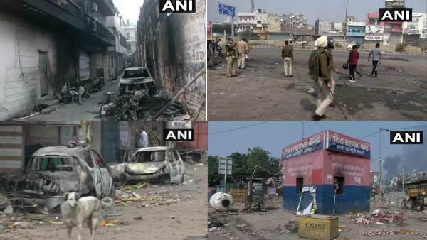 दिल्ली में किस कदर मचा था बवाल, देखिए हिंसा की तस्वीरें
