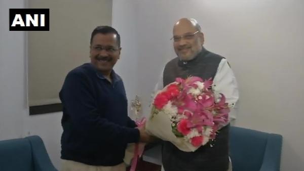 दिल्ली: गृह मंत्री अमित शाह से मिले सीएम केजरीवाल, शहीन बाग पर नहीं हुई कोई बात