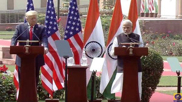 इसे भी पढ़ें- Trump in India: पीएम मोदी और अमेरिकी राष्ट्रपति डोनाल्ड ट्रंप का साझा बयान, एक-दूसरे को कहा थैंक्यू