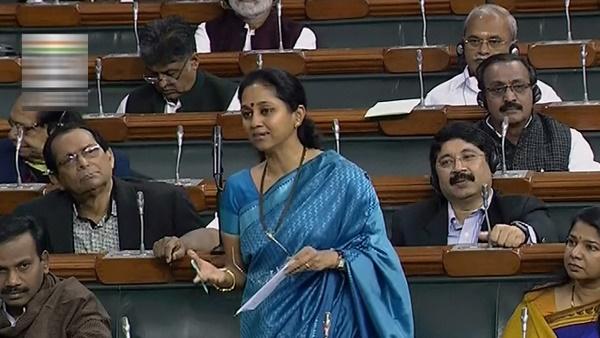 सोनिया गांधी के बाद अब सुप्रिया सुले ने की गृह मंत्री अमित शाह के इस्तीफे की मांग