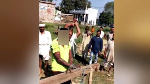bihar begusarai villagers beat to a man in case of molestation