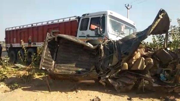 Jodhpur Accident : राजस्थान में दूल्हा दुल्हन समेत 11 की मौत, ढोक लगाने जा रहे थे रामदेवरा, VIDEO