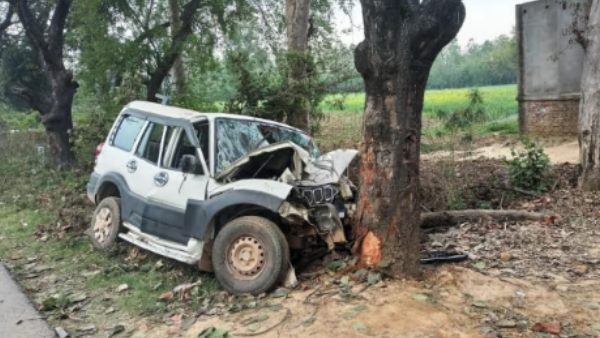 three killed in road accident in raebareli