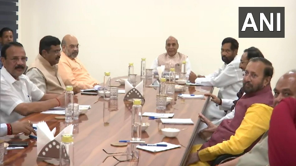 High level meeting of Union Ministers on COVID-19 review issues related to epidemic