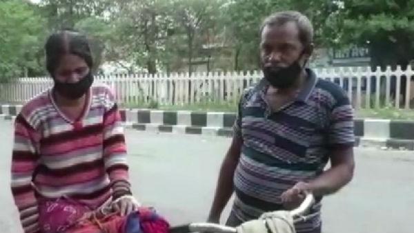 यह पढ़ें:Lockdown: एंबुलेंस के लिए नहीं थे पैसे इसलिए घायल पत्नी को 12 किमी साइकिल चलाकर अस्पताल ले गया शख्स