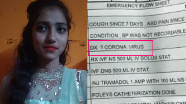 Coronavirus suspect woman died in mathura