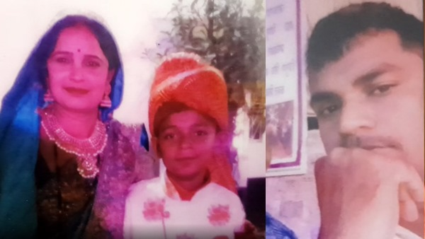 man killed self after murdered wife and son in jhansi