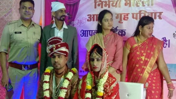 Muslim couple got married to orphaned girl