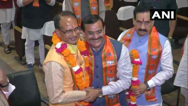 Shivraj Singh Chauhan elected MP BJP Legislature Party leader amid lockdown