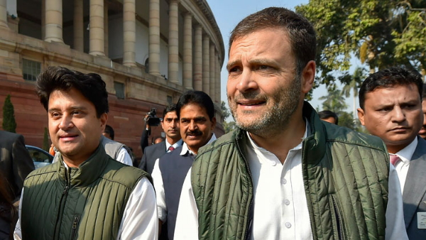 Rahul Gandhi tweets on political situation in Madhya Pradesh, Targets Modi Govt