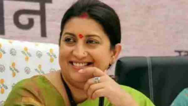 Smriti Irani Donated One Crore Rupees for Fighting Coronavirus