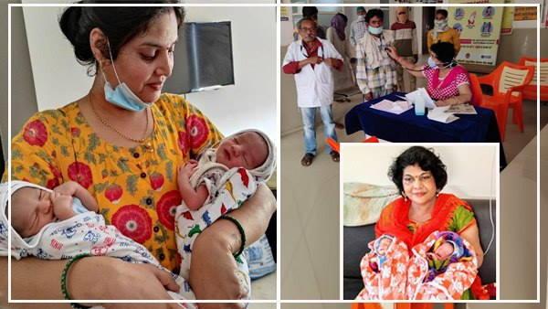 Dr Shobhana Choksey : 22 साल बाद मां बनी डॉक्टर जुड़वा बच्चों को घर छोड़ अस्पताल लौटीं