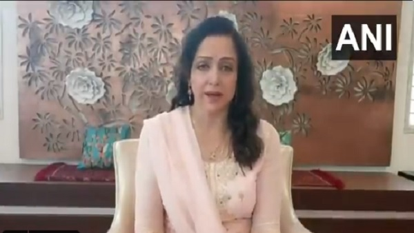 hema malini reacts on incident of attack on Corona Warriors hema malini reacts on incident of attack on Corona Warriors