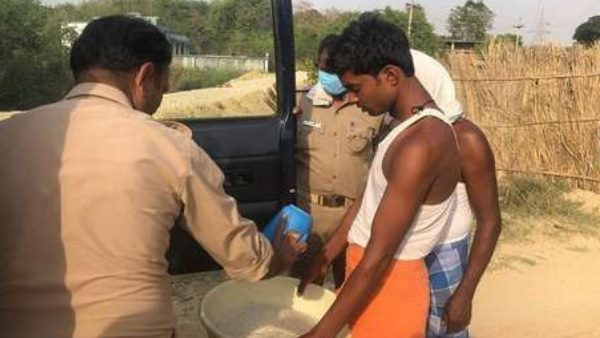 police helped hungry family for four days in jaunpur
