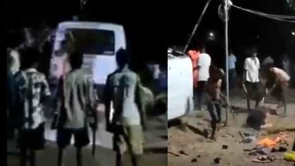 पालघर मामले में बड़ी कार्रवाई, तीन पुलिसकर्मी निलंबित, 35 का तबादला