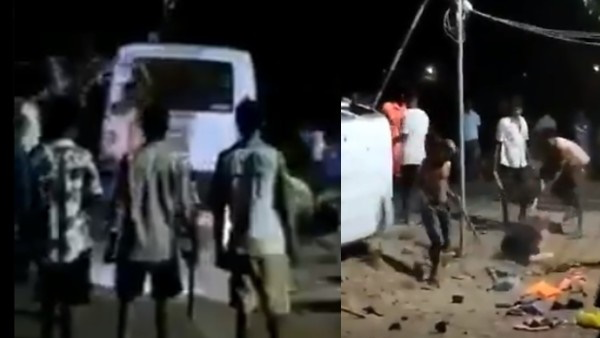2 Police personnel of Kasa Police Station have been suspended in connection with Palghar incident